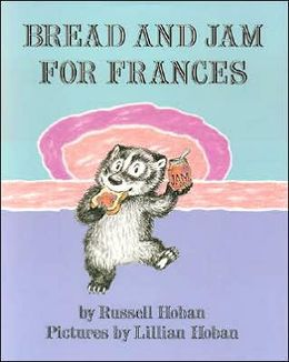Bread and Jam for Frances is a loooong book (picture from Barnes and Noble)