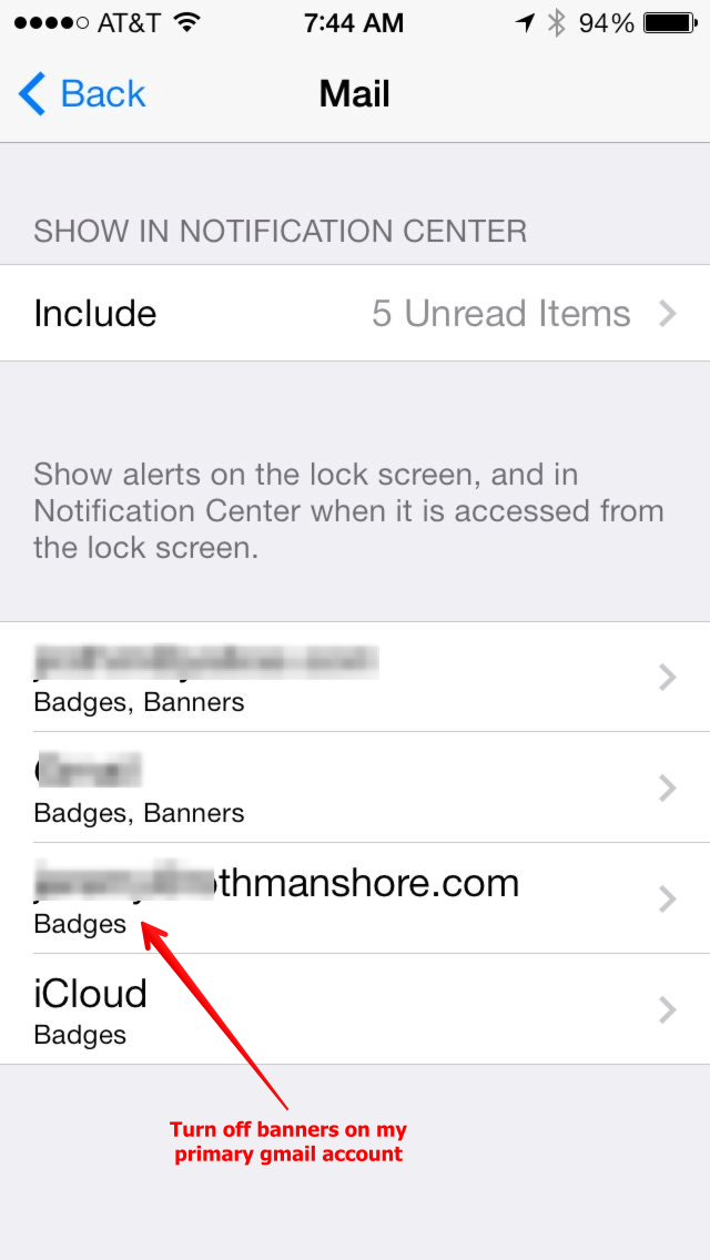 how to delete email off gmail app