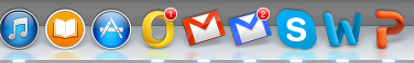 Fluid finds the unread message count inside the gmail page and updates the dock badge accordingly.